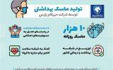 کمک ایران خودرو به مبارزه با شیوع کرونا
